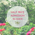 Half Price Admission For The Month of May!